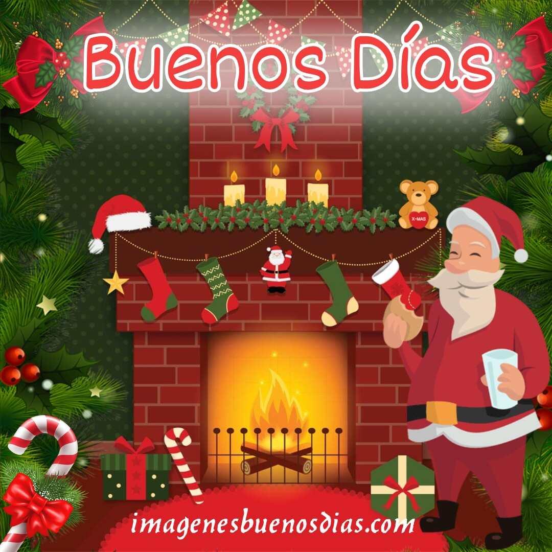 Imágenes buenos días navideños