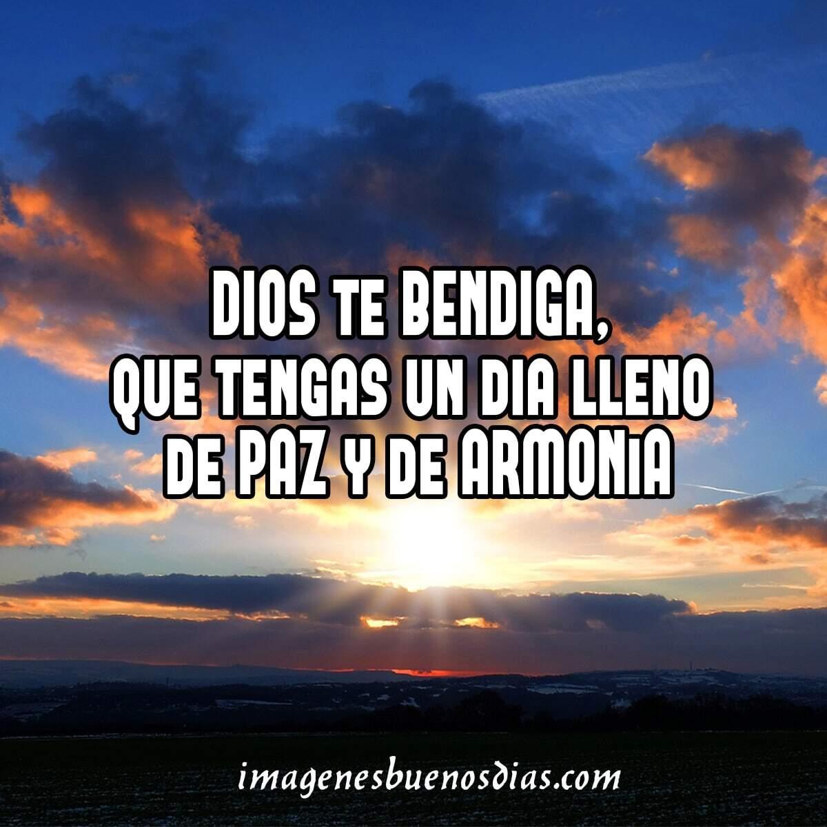 bendiciones buenos días