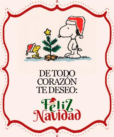 snoopy feliz navidad