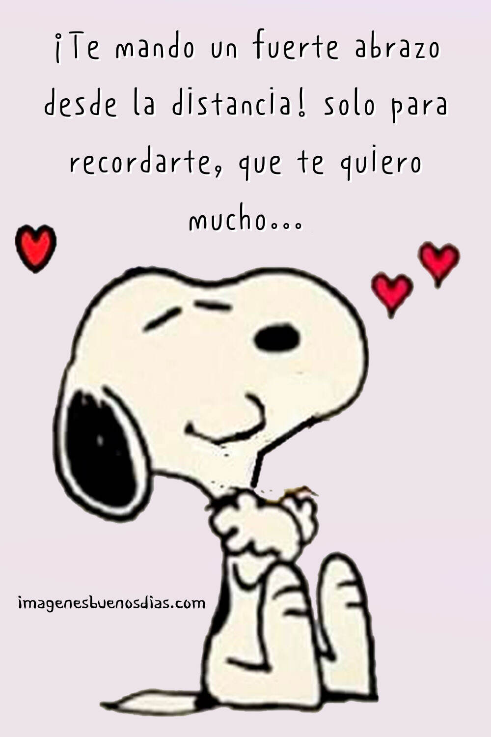 Snoopy amor frases