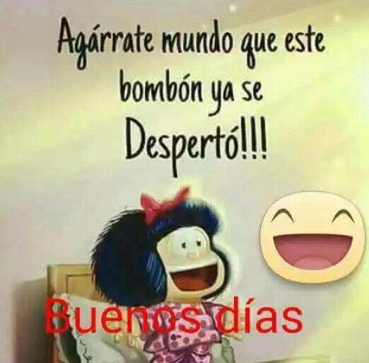 Imágenes de Buenos Días Mafalda