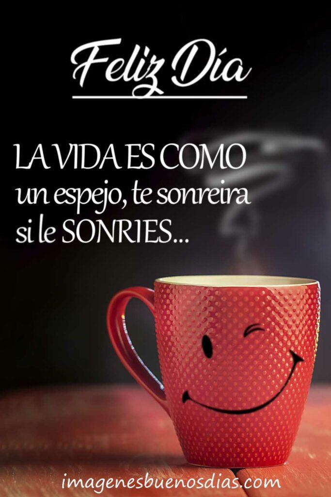Buenos días café frases
